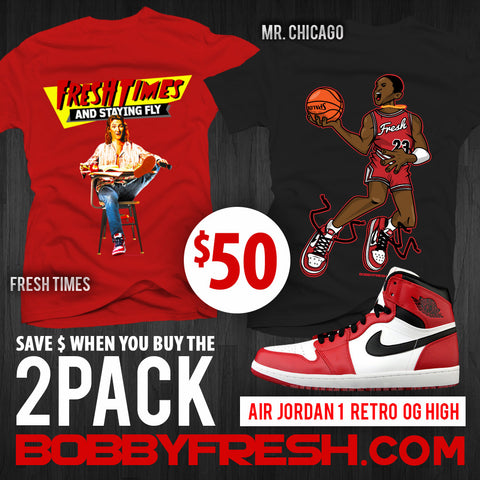 2pack Retro 1 Fresh Times / Mr. Chicago