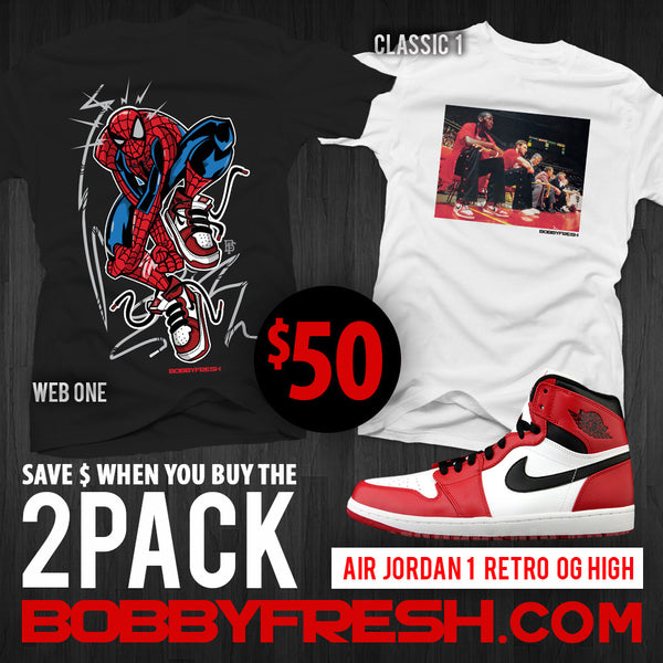 2pack Retro 1 Web One /  Classic 1