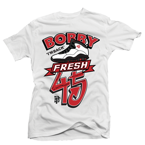 Forty Five White Tee