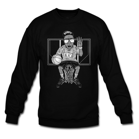 IV The Love Of Kicks Black Oreo Crewneck
