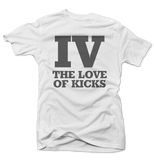 IV the Love Cement 4 White Tee