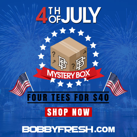 4th of July Mystery Box (4 tees for only $40) Tee