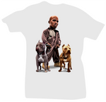 All Dogs Go to Heaven White DMX Tee - Bobby Fresh