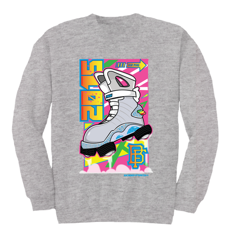 Air Mag Heather Grey Crewneck