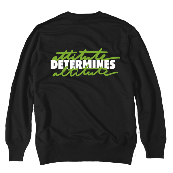 Attitude Black Altitude 13 Crewneck Sweater