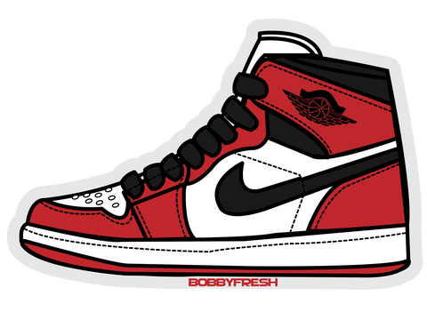 Jordan Retro 1 OG High Sticker