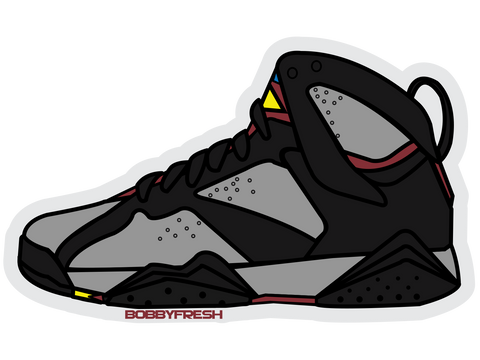 Bordeaux 7 Sticker