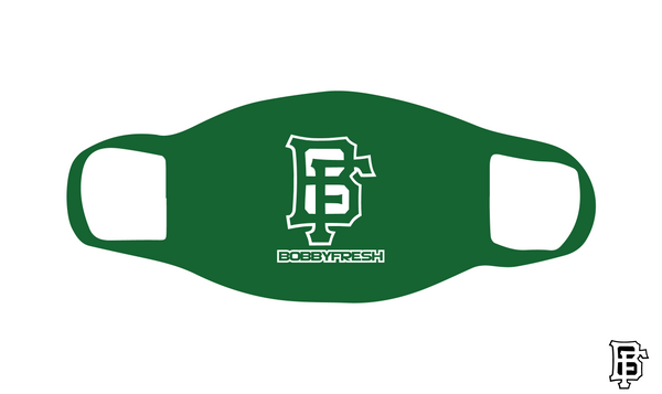 BF Logo Green Mask - Bobby Fresh