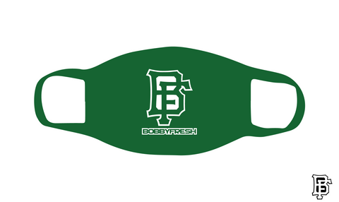 BF Logo Green Mask