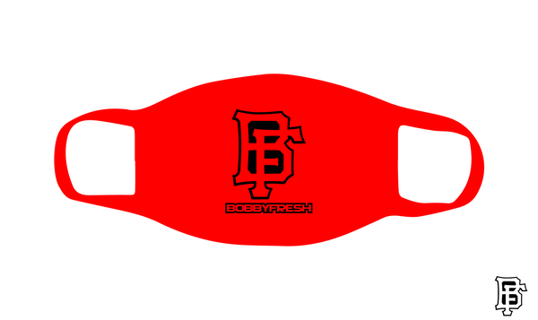 BF Logo Red Mask - Bobby Fresh