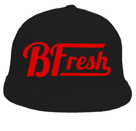 BFresh Black/Red Snapback