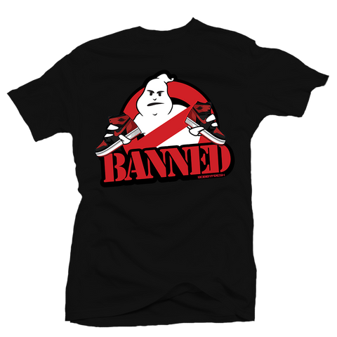 Ghost Banned Black Tee