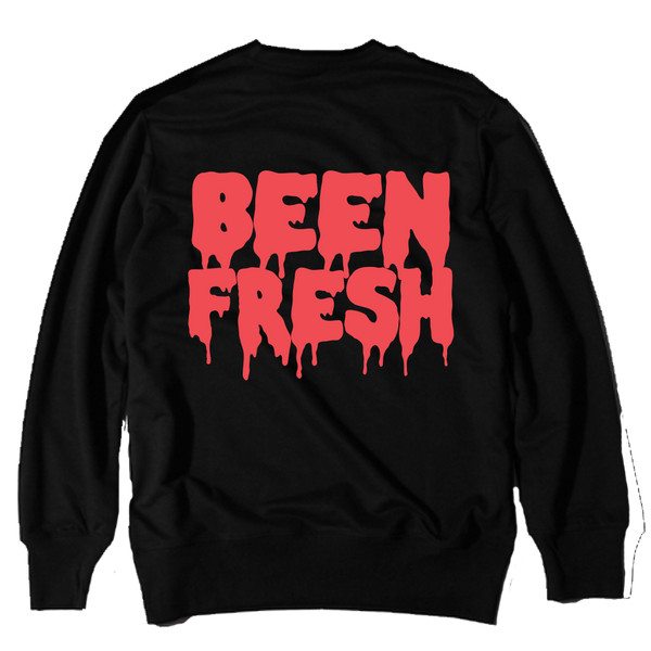 Been Fresh Black Infrared Crewneck