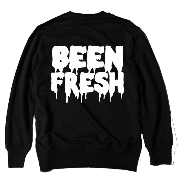 Been Fresh Black Crewneck