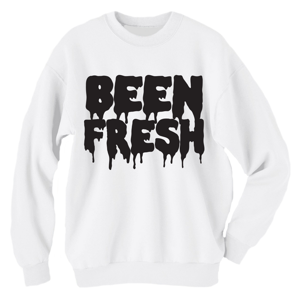 Been Fresh White Crewneck