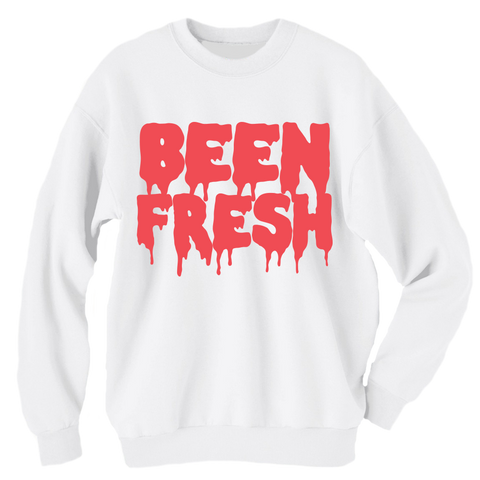 Been Fresh White Infrared Crewneck