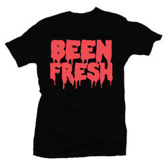 Been Fresh Black / Infrared Tee