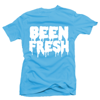 Been Fresh Blue UNC Tee - Bobby Fresh