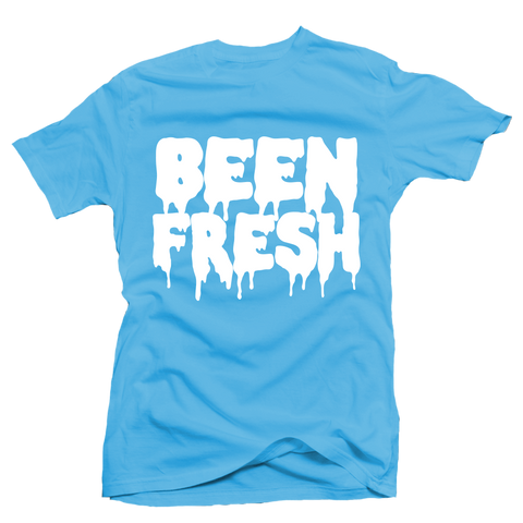 Been Fresh Blue UNC Tee