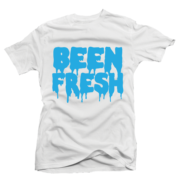 Been Fresh White UNC Tee - Bobby Fresh