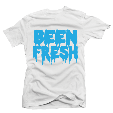 Been Fresh White UNC Tee