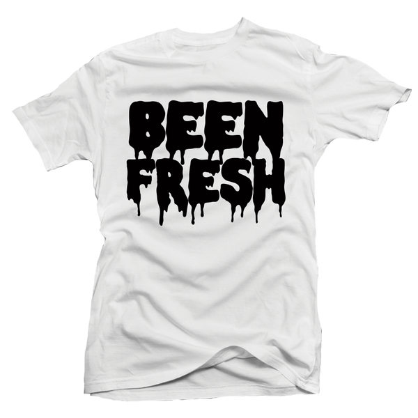 Been Fresh White Tee - Bobby Fresh