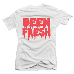 Been Fresh White / Infrared Tee