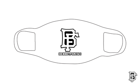 BF Logo White Mask