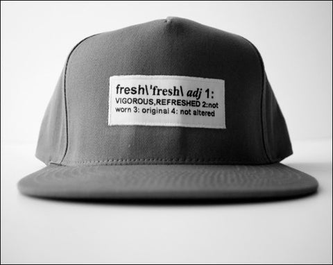 Definition of Fresh Snapback