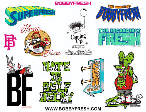 Spring 2 2013 Sticker Pack