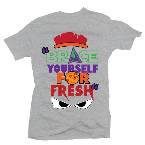 Brace Yourself Heather Martian Tee