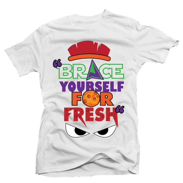 Brace Yourself White Martian Tee