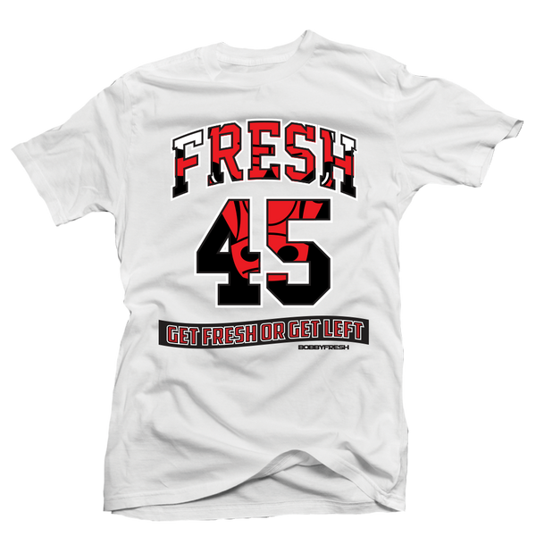 Bully Fresh White Tee