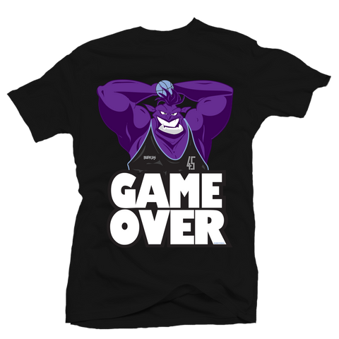 Game Over (Space Jam) Black Tee