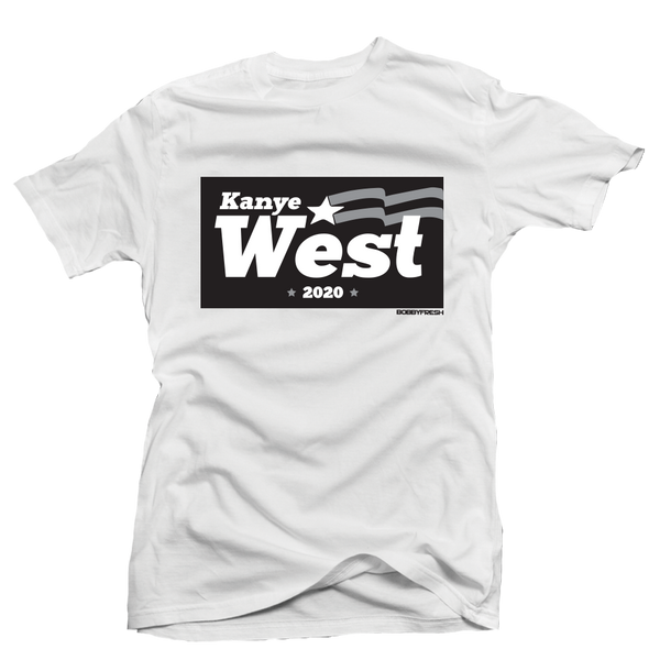 Campaign White Tee