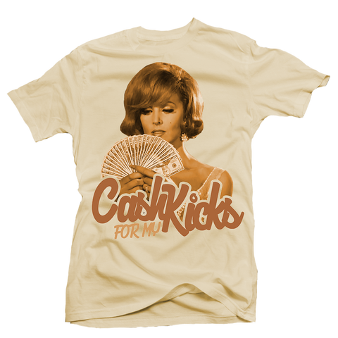 Cash for my Kicks Cream Tee