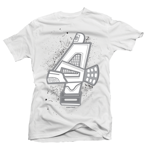 Cement 4 White Tee