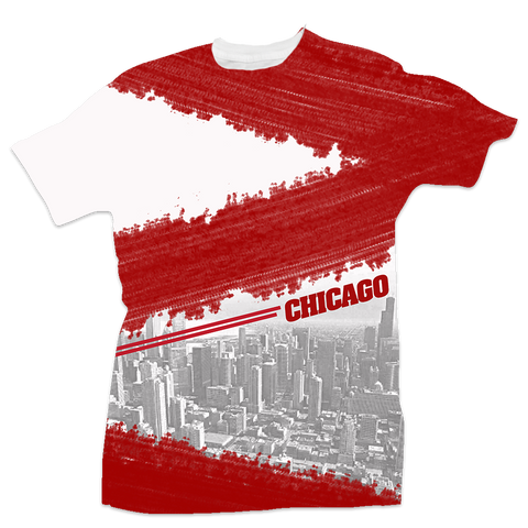 Chicago All Over Tee