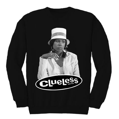 Clueless Black Crewneck