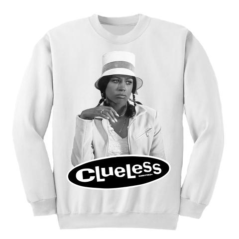 Clueless White Crewneck