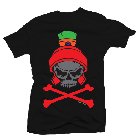 Dead Head Black Martian Tee
