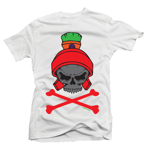 Dead Head White Martian Tee