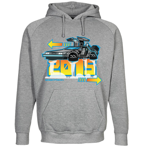 DeLorean Heather Hoody