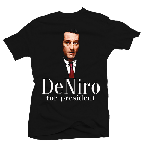 Dinero for President Black Tee