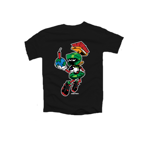 Destroy Black Toddler Tee