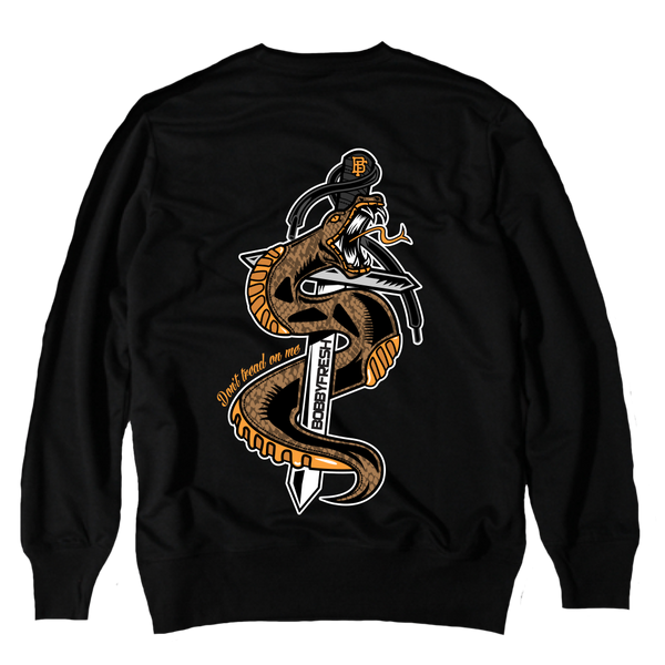 Don't Tread Black Crewneck