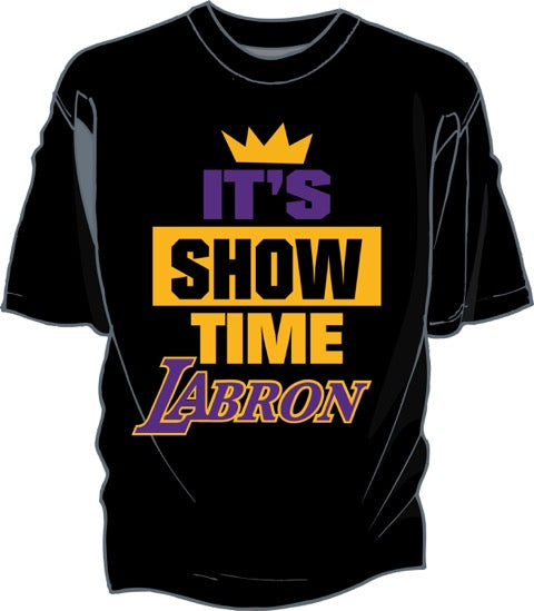 Showtime Black Tee