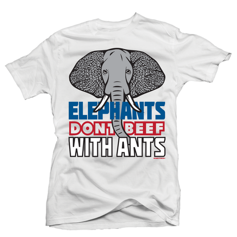 Elephants White Tee