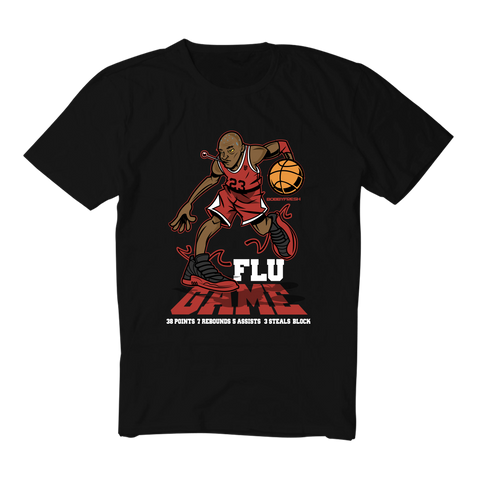 Flu Game Black Tee