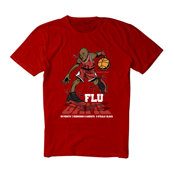Flu Game Red Tee